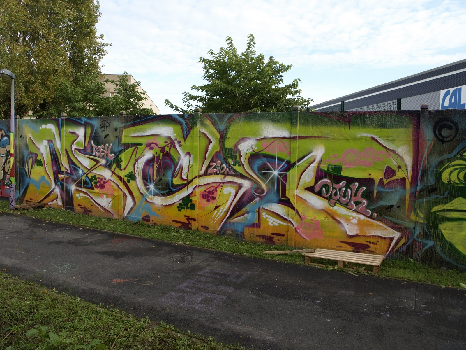 photo graffiti de Gennevilliers