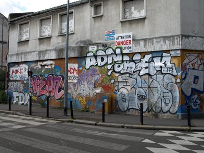 photo graffiti Bagnolet