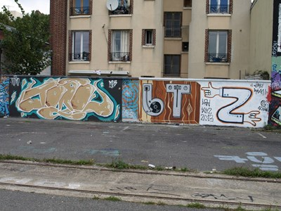 photo graffiti Pantin