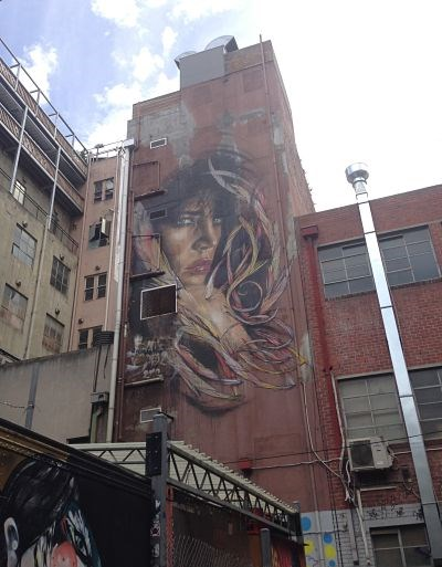 photo graffiti Melbourne, Australie