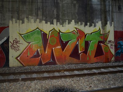 photo graffiti St ouen l\'aumone