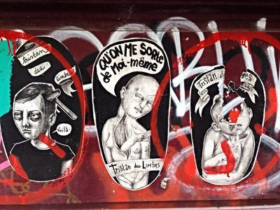 photo graffiti Paris