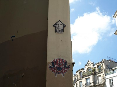 photo graffiti Paris 3eme arrondissement