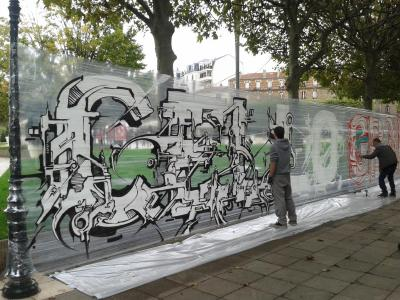 photo graffiti Puteaux