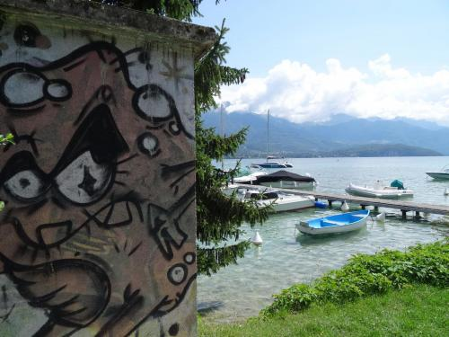 photo graffiti Annecy