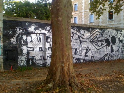 photo graffiti Bordeaux