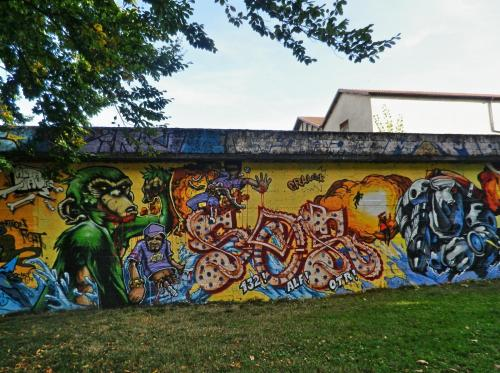 photo graffiti Chambery