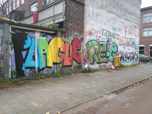 photo graffiti Utrecht, Pays-Bas