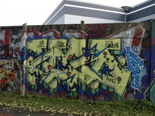 photo graffiti Gennevilliers