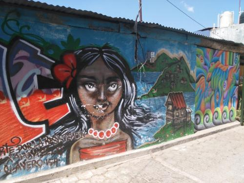 photo graffiti San Marco la laguna, Guatemala