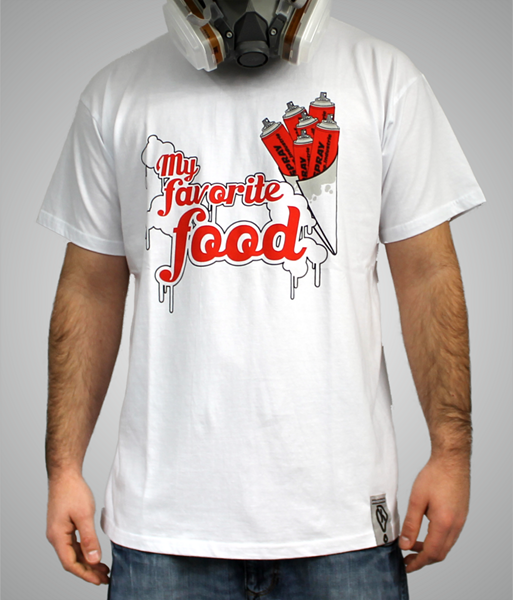 photo t-shirt kone industrie My favorite food